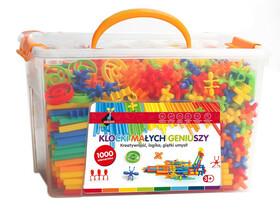 Klocki małych geniuszy - Słomki 1000 elementów